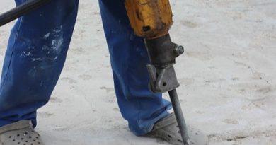 Как се кърти бетон лесно?